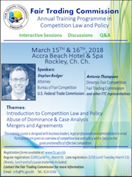Fair Competition Workshop March 15 & 16